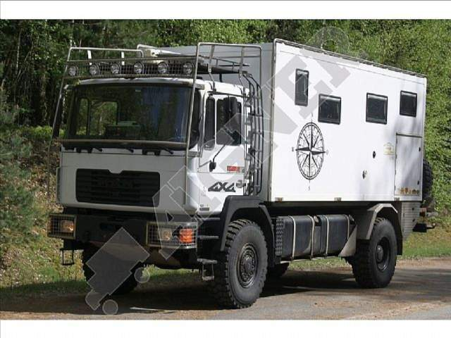 MAN - 16.232 4x4 Expeditionswohnmobil