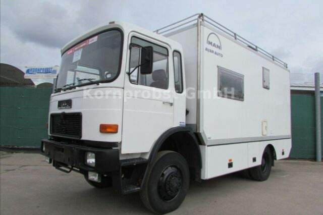 MAN - 12.192 4x4 ALLRAD Expeditionsmobil - Reisemobil